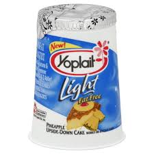 yoplait light yogurt ingredients light yogurt pineapple upside down cake fat free