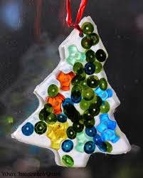 glue suncatchers an easy tree ornament craft where