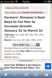 best days to cut hair hair remedy hairr pinterest hair loss hair loss remedies and
