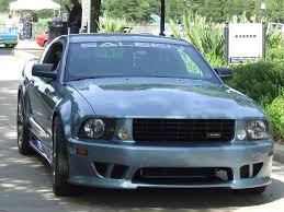 Black Mustang Saleen 2005 Saleen