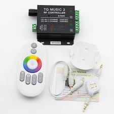 led strip lights remote dc12 24v 6a3ch max 216w led music rhythm controller sound