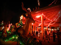 Retro Christmas Lights by Very Vintage Virginia Christmas Town At Busch Gardens Williamsburg