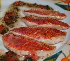 cuisiner le rouget filets de rouget sauce vierge