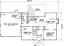 colonial style floor plans colonial style house plan 4 beds 2 50 baths 2616 sq ft plan 312 582