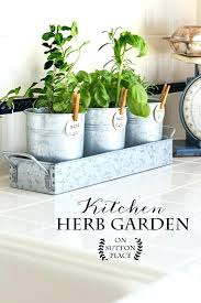 Window Sill Garden Inspiration Stylish Inspiration Ideas Windowsill Herb Garden Kit Kitchen