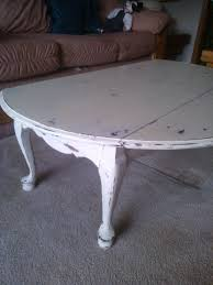distressed drop leaf coffee table finished projects pinterest