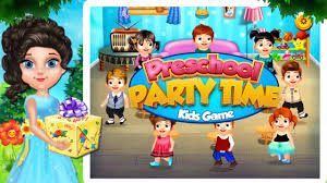 preschool party time kids game free for limited time download
