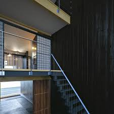 home design in japan old and new are juxtaposed within this interesting example of