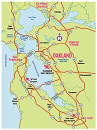 california map oakland meet downtown oakland downtown map