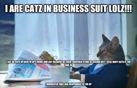 Cat Suit Meme - livememe com sophisticated cat