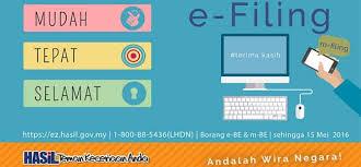 E Filing E Filing Lhdn Malaysia Cara Terbaik Isi Berita Semasa