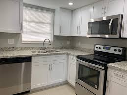 small kitchen remodel with white cabinets small kitchen remodel with white shaker cabinets miami