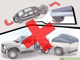 how to tow a trailer with pictures wikihow