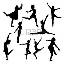 dinner silhouette danse clipart dinner dance pencil and in color danse clipart