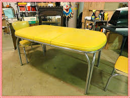 retro yellow kitchen table articles with vintage yellow formica table tag yellow kitchen table