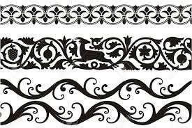 beautiful decorative ornaments royalty free cliparts vectors and