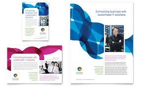 it u0026 computer consulting flyer templates word u0026 publisher