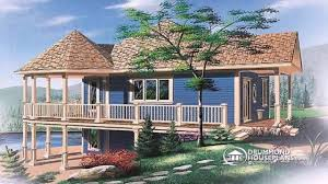 32 mountainside home plans with walk out basements hillside home