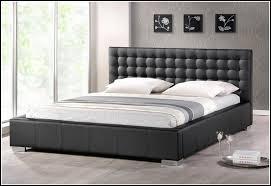 Leather Headboard Platform Bed Kitchen Marvellous King Size Platform Bed Frames King Platform