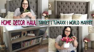 target com home decor home decor haul mini apartment tour target tjmaxx more