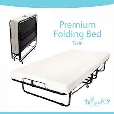 Folding Rollaway Bed Favored Folding Cot Beds With Mattress For Camping Or In Home Use