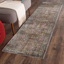 thin area rugs grey floral design area rug safavieh transitional rugs