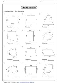 perimeter worksheets 4th grade free worksheets library download