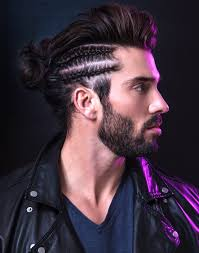 harmonise your hairstyle with your wardrobe to create an impact trend report bangstyle