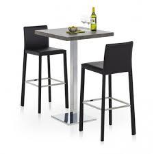 mange debout cuisine table de cuisine carrée mange debout en stratifié carré