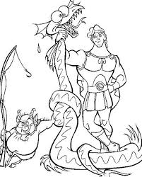 the power of hercules cartoon coloring pages cartoon coloring