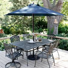 Coolaroo Umbrella Review by Coolaroo 11 Ft Crank Open Aluminum Market Patio Umbrella Hayneedle