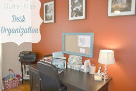 Organizing Clutter by Clutter Free Desk Organization Youtube