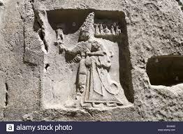 th e chambre b relief in chamber b at the hittite rock sanctuary of yazilikiya