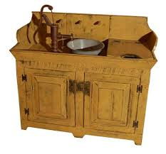 Kitchen Sink And Cabinet Combo by Rustic Wood Sink Country Rustic Dry Sink Cabinet Combo Country