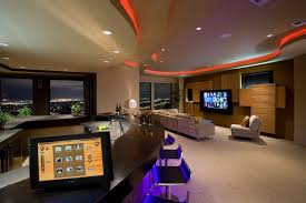 custom residential audio video automation design modern home