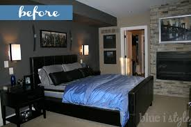Master Bedroom Art Above Bed One Room Challenge Modern Metro Master Bedroom Reveal Blue I Style