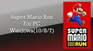 run apk on pc install mario run on pc and laptop windows 10 8 7