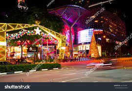 singapore nov 19 night view christmas stock photo 231794992