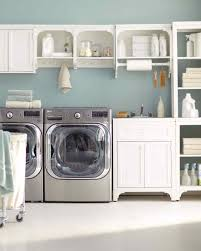Laundry Room Storage Cart by 12 Essential Laundry Room Organizing Ideas Martha Stewart