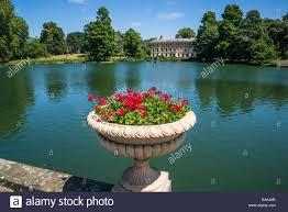 pond in front of kew gardens museum kew royal botanic gardens
