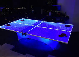 ping pong table rental near me led ping pong table los angeles partyworks inc equipment