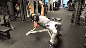 Incline Dumbell Bench Press Incline Dumbbell Bench Press Unilateral Youtube