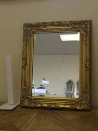 Specchio Shabby Chic On Line by Antique Gold Shabby Chic Style Rectangular Wall Mirror Complete