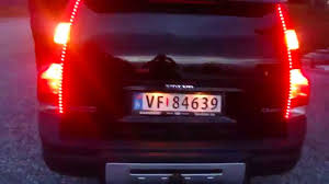 volvo s60 tail light assembly xc70 led tail light turn signal youtube
