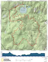 Appalachian Trail Map Pennsylvania by Pinchot Trail Hiking The South Loop Pahikes