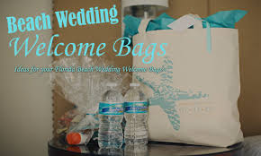 welcome bags for wedding guests florida wedding welcome bags gifts for your wedding