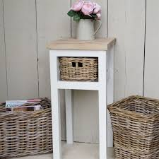 how high should a bedside table be tall side table bedside bliss and bloom ltd