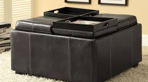 Ottoman Black Leather 24 Best Ottomans And Footstools Images On Pinterest Ottomans