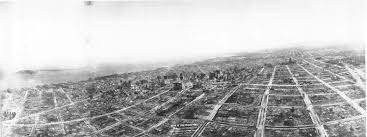 Aerial Map Of Chicago by San Francisco In Ruins