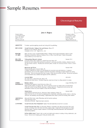 chronological resume templates 100 exle of a chronological resume templates list objectives